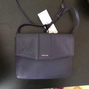 Matt and Nat crossbody, new with tags in Plum